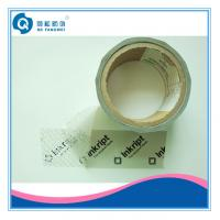 Buy cheap Single Side Security Tamper Evident Tape , Carton Clear Packing Tape product
