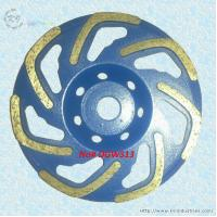 Buy cheap L-shape Row Cup Grinding Wheel - DGWS13 product