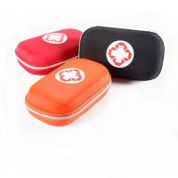 Buy cheap Customized Medical Grade First Aid Kit Round Shape Colored Carrying Organizer product