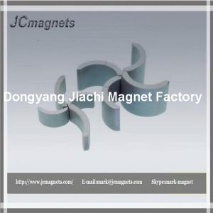 China ferrite arc-segment Magnet for Generator on sale