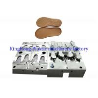 China EVA shoe sole die , EVA out sole injection die for King steel machine, EVA slipper die for molding machine on sale