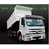 Buy cheap Transport Blue / Yellow / Red HOWO 6 x 4 Dump Truck 25 ton ZZ3257N3647A product