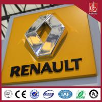 Buy cheap Factory Outlet Outdoor Chrome 3D Laser Auto Logo,auto signage product