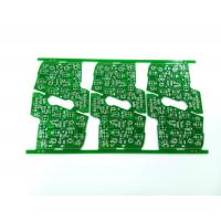 Buy cheap Green 2 Layers Automotive PCB Foot Rest Board 1OZ 1.6 Mm HASLPCB product