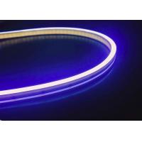 China Pure Silicone 2835 SMD LED Flexible Strip Rope Lights , 6 x 12MM IP67 Waterproof on sale