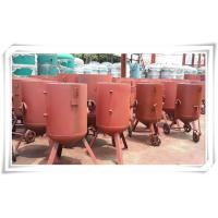 Buy cheap Derusting Media Bead Blasting Equipment , Open Mobile Sandblasting Equipment product