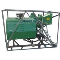Diesel Engine Hydraulic Wood Chipper 40HP Power With Double Rollers