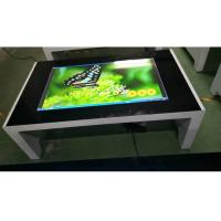 Buy cheap 1080P Interactive Touch Screen Kiosk  , Capacitive Multitouch Table With Windows Os from wholesalers