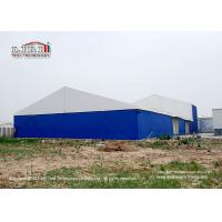 Buy cheap 30m Width Industrial Storage Tents With  Block - Out And Translucent Roof Cover product