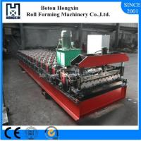 Buy cheap Trapezoidal Sheet Roof Roll Forming Machine High Grade Hydraulic Pump product