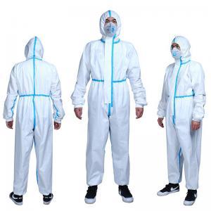 China Polypropylene Non Woven Disposable Protective Wear For Hazardous Particles Prevention on sale