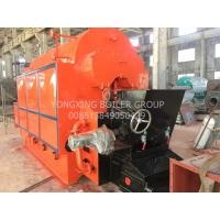China Horizontal Coal Fired Steam Boiler , Single Drum Industrial Biomass Boiler 1-20 T/H on sale