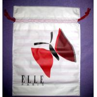 Buy cheap White Drawstring Plastic Bags product