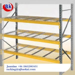 China Narrow Aisle Pallet Racks Very Narrow Aisle Racking Selective Pallet Racking on sale