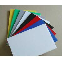 Buy cheap SC Extruded Industrial Engineering Plastics , Assorted Colorful POM Sheet product