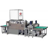Buy cheap PLC automatic Float Sheet Glass Cleaning Equipment And Drying Machine With Heating System product