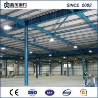 China Prefab Steel Building Steel Structure Workshop with H section Steel on sale
