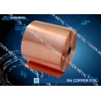 China Cu - ETP T2 C110 -  RA Copper  Foil , with High Quality wholesale