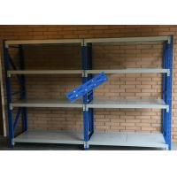 Buy cheap Pallet Steel Storage Shelves / Light Duty Double Deep Pallet Racking product