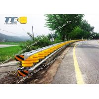 Buy cheap Accident Car Roller Guard Rail Road Crash Barrier EVA PU Roller Material product