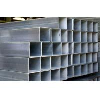 China Q195 / Q235 Galvanized Steel Square Tubing , ASTM A53 Hollow Section Square Steel Tube on sale