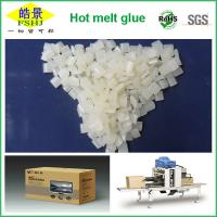 Buy cheap Folding Carton Box Hot Melt Edge Banding / Packaging White Granule First Grade product