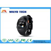 Buy cheap S888w Adult bluetooth wrist watch android 1.2 inch OLED SMS SOS Support GPS product