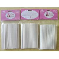 Buy cheap paper stick / paper lollipop sticks /cake pop sticks product