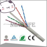 Buy cheap High Quality 22AWG UTP CAT6 CCA Cable Pass Fluke Test product