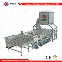 Buy cheap Small Construction PLC Glass Washing Machine After Glass Grinding product