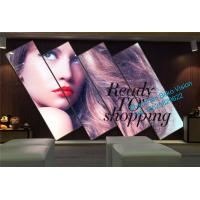 Buy cheap Ultralight WiFi/4G/USB Indoor LED Poster Display Screen For Mall Advertising product
