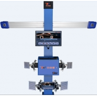 Buy cheap 2 High Defination Cameras hang out the wall T258+ 3D Car Wheel Aligner With Double Monitors product