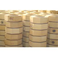 Dry Pressed Cement Kiln Refractory Brick Fire Clay Bricks For Ingot Steel Casting