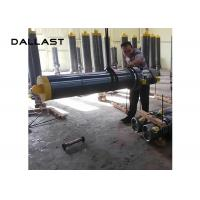 Quality Multi Stage Telescopic Hydraulic Cylinder , Single Acting Dumper Hydraulic Lift for sale