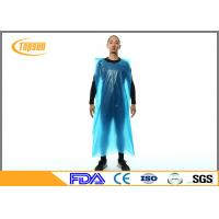 Buy cheap Disposable Plastic Aprons With Sleeves , Plastic Kitchen Aprons Custmozied Logo product