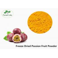 Buy cheap Concentrate Pure Natural Freeze Dried Passion Fruit Powder 2 Years Shelf Life product