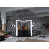 China Backyard Camping Inflatable Bubble Tent , Clear Inflatable Lawn Tent for Adults and Kids on sale