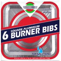 China Square Gas Burner Bib Gas Burner Bibs covers Gas stove aluminum foil cleaning plate on sale