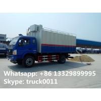 China factory direct sale 18m3 self-discharging bulk grains farm truck, best price food grains transfering truck for sale on sale