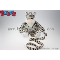 "Buy cheap 11.8""Black and White Tiger Children Backpack Children Lost Proof Bags Bos-1237 from wholesalers"