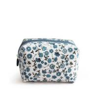 Buy cheap Promotional Printed Floral Canvas Cosmetic Bags / Canvas Makeup Bags product