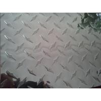 Buy cheap Construction Silver Aluminium Tread Plate with Diamond Pattern Alloy 1050 3003 5052 product