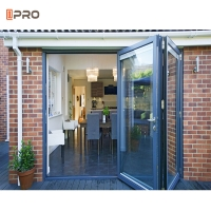 Buy cheap Coneal Glass Folding Door Hardware Stainless Steel Folding Door product