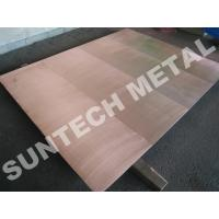 China C1020 / 316L Copper Clad Plate wholesale