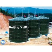 Buy cheap 5000 M3 Anaerobic Digester Tank Glass Fused To Steel Material Fast Installation product