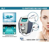 Buy cheap Portable Q Switched Nd Yag Laser Tattoo Removal Machine 1064nm 532nm 1320nm product