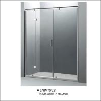 Buy cheap Tempered Glass Hinge Shower Screen / Shower Door With Aluminium Alloy Frame product