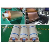 Buy cheap 99.95% Purity Soft Copper Foil Roll / Strip Double Sided Light SGS Approval product