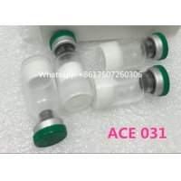 Buy cheap 99 % Purity Muscle Building Peptides ACE 031 White Powder Peptide Hormones Bodybuilding product