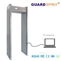 Buy cheap LED Light Bars multi zone door frame metal detector Bank Access Control With Battery product